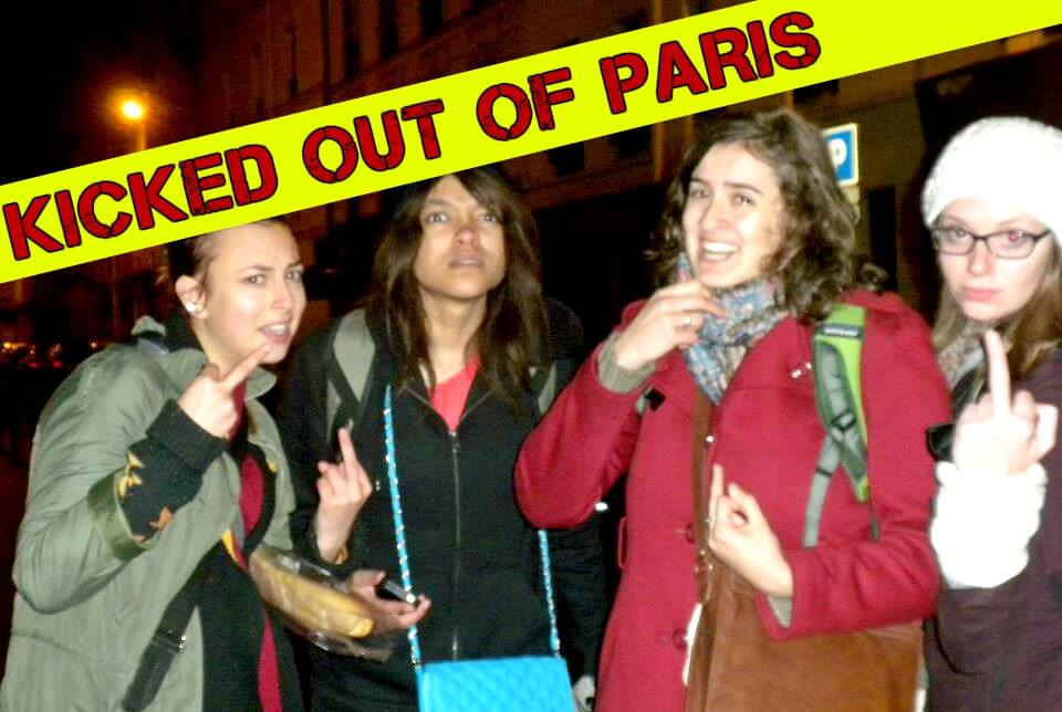 How to Get Kicked Out of a Paris Hotel at Midnight