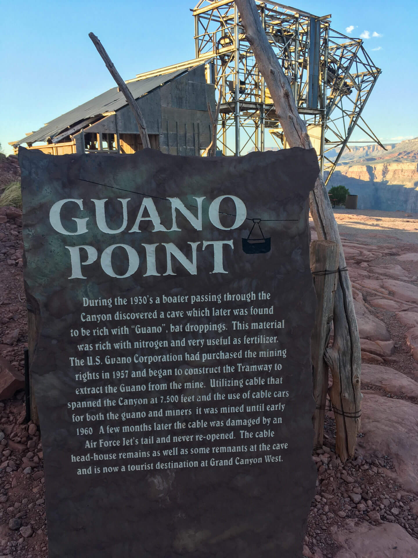 Grand Canyon West – Guano Point