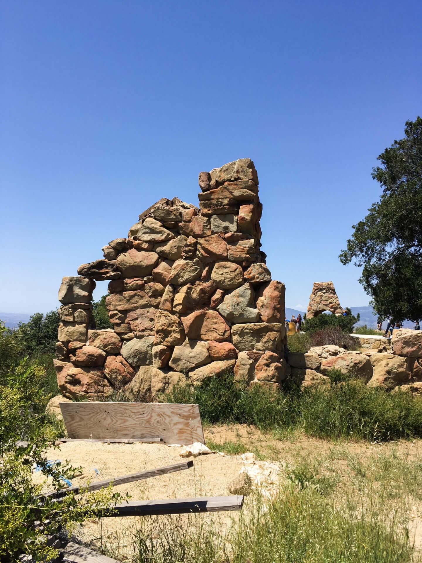 knapps castle ruins