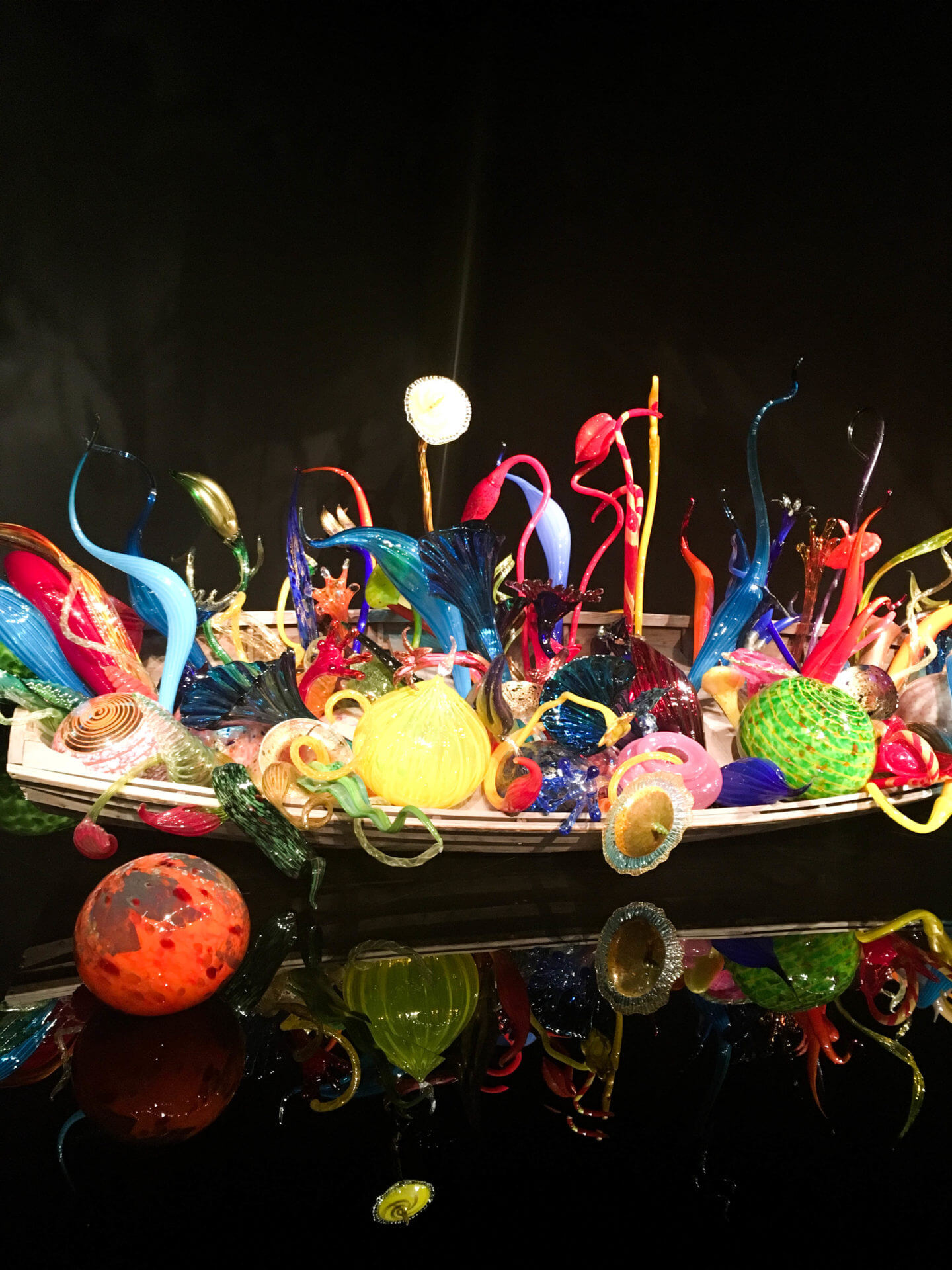 chihuly museum boats